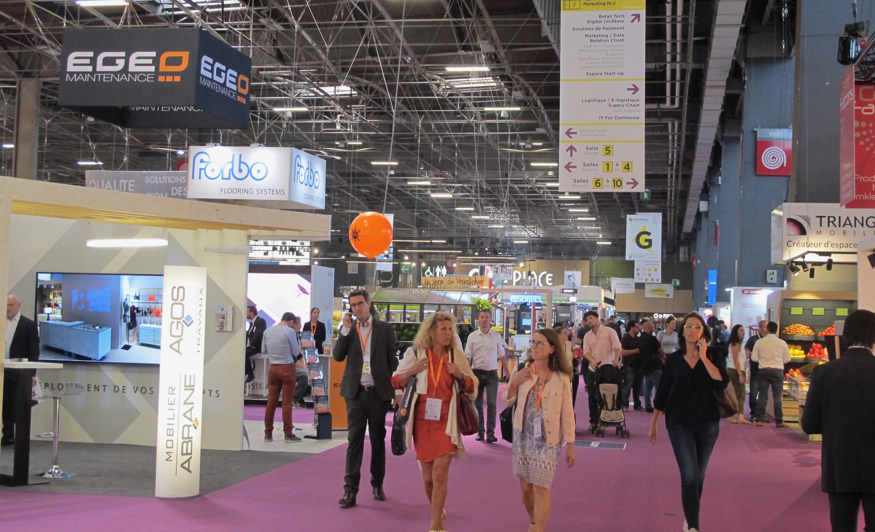Paris Retail Week – Le coup d'oeil de CLEODIS