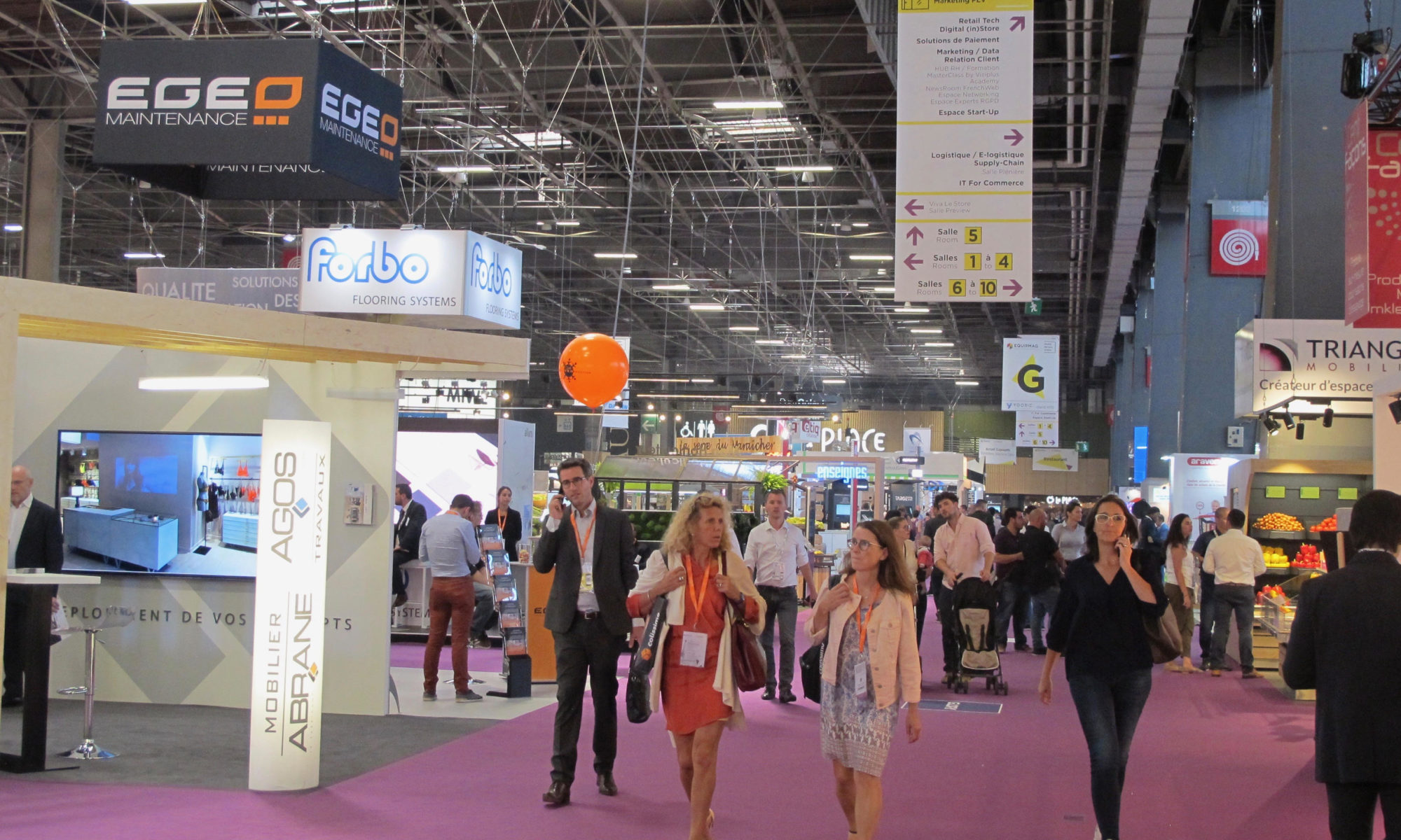 Paris Retail Week CLEODIS - Tendances 2018 et innovations digitales
